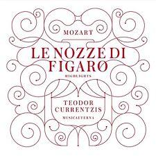 Teodor currentzis-Mozart: le nozze di Figaro (highlights) CD NUOVO
