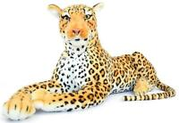 Lahari the Leopard | 3 1/2 Foot (Without Tail) Stuffed Animal Plush Cat