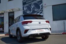 Friedrich Motorsport Duplex Sportauspuff Stahl VW T-ROC 1.5l TSI 2WD für R-Heck