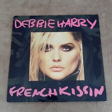 """12""""  DEBBIE HARRY FRENCH KISSIN' IN THE USA 1986 BLONDIE."""