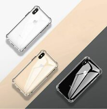 Shockproof Clear Silicone Transparent Phone Case For iPhone X XR XS Max 7 8 11