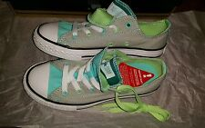 BNIB Converse CTAS Double Tongue Ox Junior Plimsolls, UK 1(EUR 33) GI
