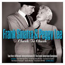 Frank Sinatra & Peggy Lee CHEEK TO CHEEK Great American Songbook NEW SEALED 2 CD