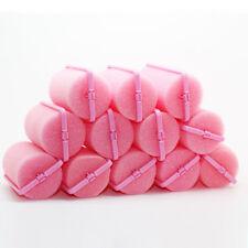 10 x Sponge Hair Rollers Salon Quality Styling Waves Curl Set Foam Twist
