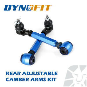 Adjustable Rear Camber Control Arm Kit Pair Fit 1998-2002 Honda Accord Blue