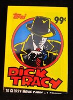 DICK TRACY TRADING CARDS 16 Glossy TOPPS Card Sealed Movie Cards NEW SEALED