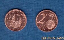 Espagne - 2016 - 2 Centimes D'Euro - Pièce neuve de rouleau - Spain