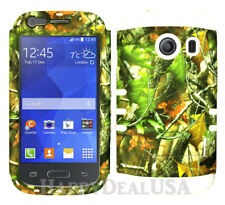 For Samsung Galaxy Ace Style S765c KoolKase Hybrid Cover Case - Camo Mossy 10