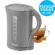 CookWorks 2.2kW 1.7L Limescale Filter Cordless Jug Boil Dry Protection Kettle