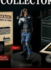 Resident Evil 2 BIOHAZARD RE:2 COLLECTOR'S EDITION PS4 Leon S. Kennedy Figure
