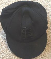 St Louis Cardinals Baseball Hat Cap Black With Ear Flap Covers