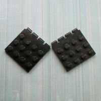 LEGO - Used Condition - 4x4 Vehicle Roof Hinge (4213) -  Black x 2
