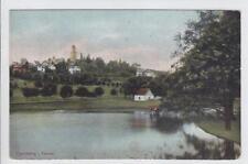 AK Kronberg im Taunus, Ortsansicht mit Weiher, 1920