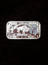 One 1 Gram .999 Fine Silver Buffalo Bar