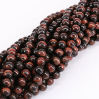 16'' Strand Natural Red Tiger Eye Gemstone Stone Loose Spacer Beads 4/6/8/10mm