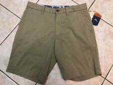 Tommy Bahama Offshore Shorts Mens 38 Khaki Flat Front Stretch NWT $98