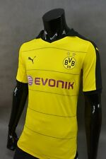 2015-2016 Puma BVB Borussia Dortmund 09 Home Player Issue Shirt SIZE L (adults)