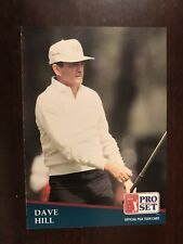 1991 Pro Set #195 - Dave Hill - Golf