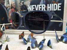 Occhiali da sole da uomo con montatura in blu con tecnologia lenti gradiente 100% UV