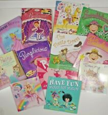 Girls Lot of 12 picture books-paperback & hardcover mixed