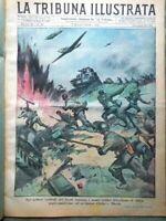 La Tribuna Illustrata 7 Marzo 1943 WW2 Polo Lucchini Giro d'Italia Frescobaldi
