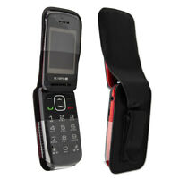 Smartphone / Feature-Phone Case for TTFone Star TT300 Leather-Case with belt cli