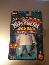 "Marvel Toy Biz Heavy Metal Heroes KINGPIN 2.75"" die cast figure MOC"