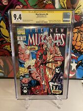 new mutants 98 cgc 9.4, Signed By Rob Liefeld