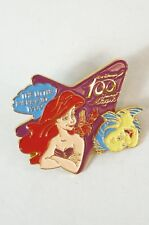 Disney JAPAN Pin Walt 100 Magic LE 3000 Little Mermaid Ariel & Flounder