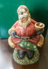 Harmony Kingdom Santa Goofy Jolly Gawrsh Figurine Box Disney Le 1500