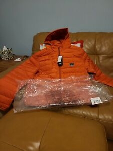 Quiksilver Kids Boys Scaly Hooded Puffer Jacket. BNWT. RRP £60.