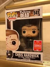 Funko POP! #541 The Talking Dead Chris Hardwick 2018 SDCC Exclusive Limited Edt