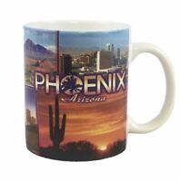 """Phoenix Arizona Collectible Souvenir 3.75"""" Coffee Tea Mug Cup EUC"""