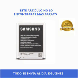 Bateria para Samsung Galaxy S3 SIII GT i9300 EB-L1G6LLU // CAPACIDAD ORIGINAL //