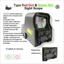 Spike Matt Tactical 1X22mm Holographic Reflex Red Green Dot Sight Scope Black