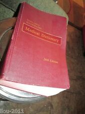 24th Edition Dorland's Illustrated Medical Dictionary 1965 W.R. Saunders Co.