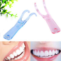 1Pc Dental floss holder oral picks teeth care dental convenient teeth cleanin Kn
