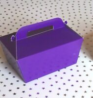 10 or more Large Single Cake Slice Boxes in  💜 Purple or White