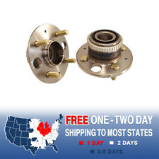 2 NEW Rear Wheel Hub Bearing Assembly ACURA INTEGRA HONDA CIVC & CIVIC DEL SOL