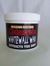 Motorcycle Tire Wax. 12 Oz.