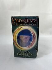 Lord of the Rings Glass Goblets Collection Gandalf the Wizard in Box