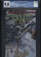 Justice League of America #11 CGC 9.8 Matt Kindt FOREVER EVIL 2014