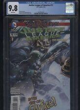 Justice League of America #11 CGC 9.8 Matt Kindt FOREVER EVIL 2014