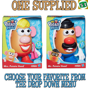 Hasbro Playskool Mr and Mrs Potato Head ONE SUPPLIED you choose Age 2+