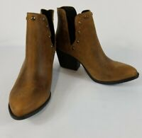 Musse & Cloud Womens Aster Leather Closed Toe Ankle Fashion Boots, Cue, Size 8M