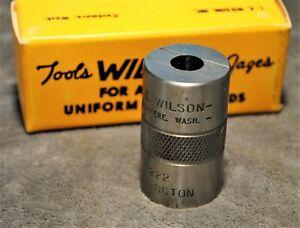 L.E. WILSON ~ CARTRIDGE CASE GAUGE 222 REMINGTON ~ BRAND NEW OLD STOCK ~
