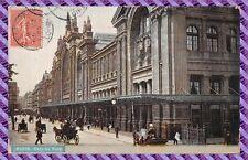 Carte Postale - Paris - Gare du nord