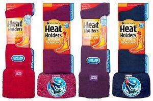 Heat Holders - Ladies Knee High Winter Wellington Boot Thermal Socks for Wellies