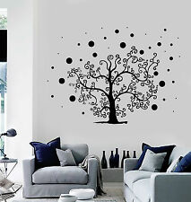 Vinyl Wall Decal Tree Branch Living Room Stickers Mural (ig4479)
