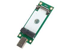 New 3G WLAN Wireless WIFI TV FM Mini PCI-e to USB Adapter card with sim slot